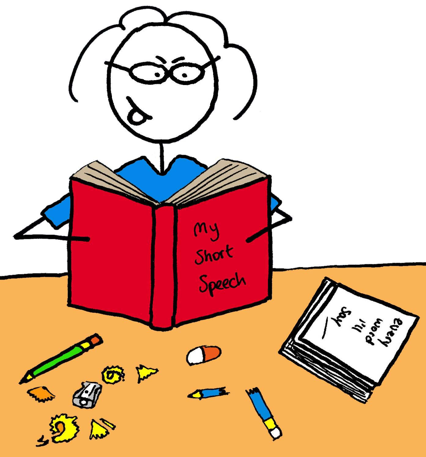 structuring a speech editing